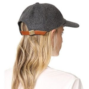 Madewell Accessories - Madewell Wool Blend Baseball Cap in Heather Gray 281cc1184a07